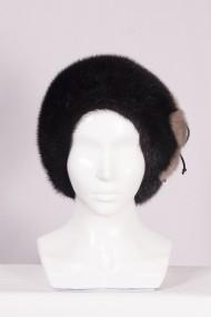 Изображение Шляпа цельно-меховая из меха норки м.429
