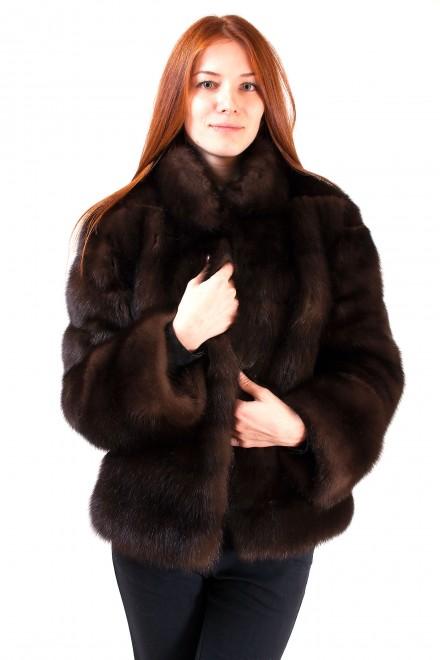 Куртка из меха соболя (модель 827)