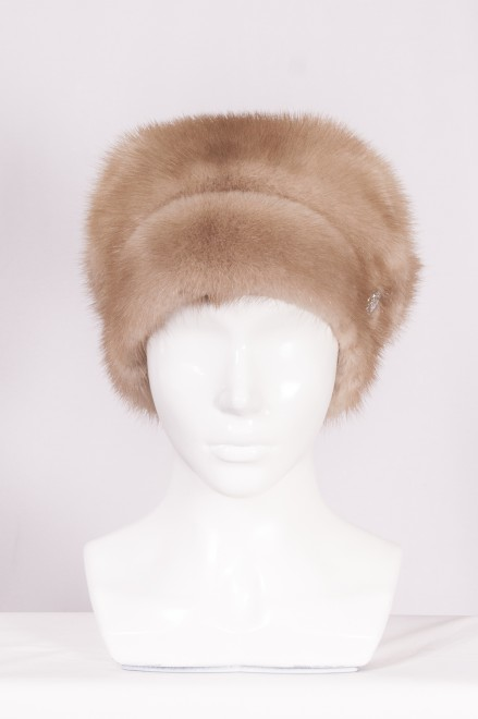 Шляпа цельно-меховая из меха норки ( модель 474 )