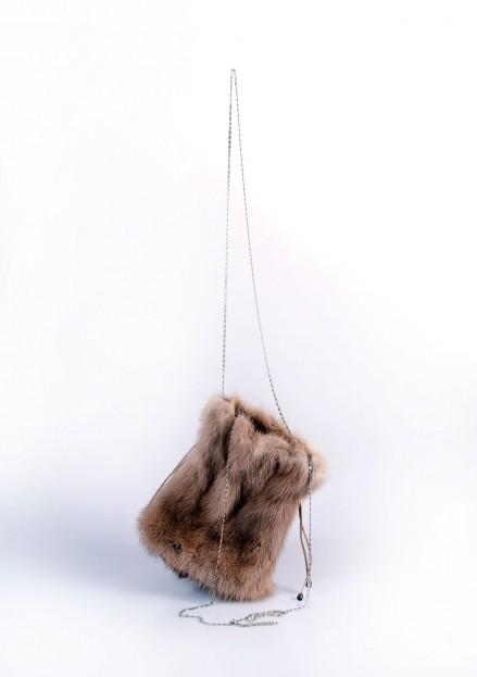 Сумка из меха норки (модель 133А)