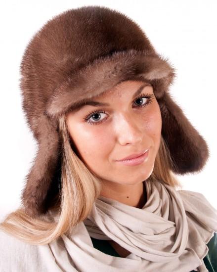 Шляпа цельно-меховая из меха норки (модель 322)