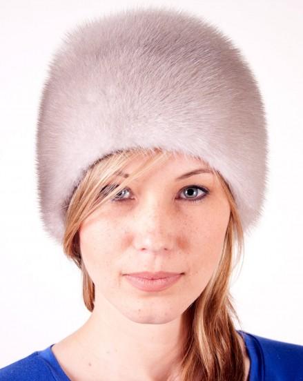 Шляпа цельно-меховая из меха норки (модель 360)