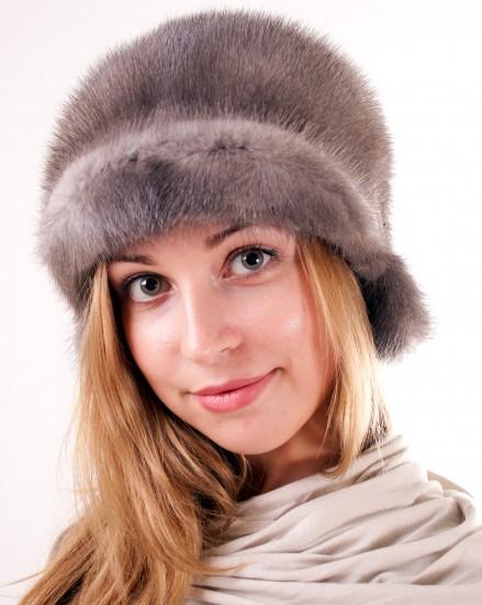 Шляпа цельно-меховая из меха норки (модель 316)