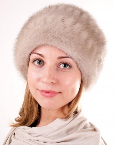 Шляпа цельно-меховая из меха норки (модель 402)
