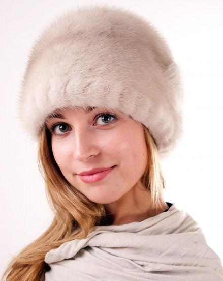 Шляпа цельно-меховая из меха норки (модель 375)