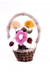 Изображение Корзина с цветами малая