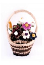 Изображение Корзина с цветами большая