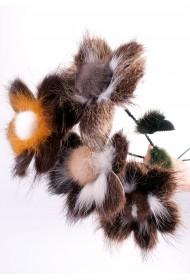 Изображение Цветок из нутрии большой