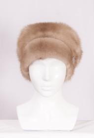 Изображение Шляпа цельно-меховая из меха норки м.474